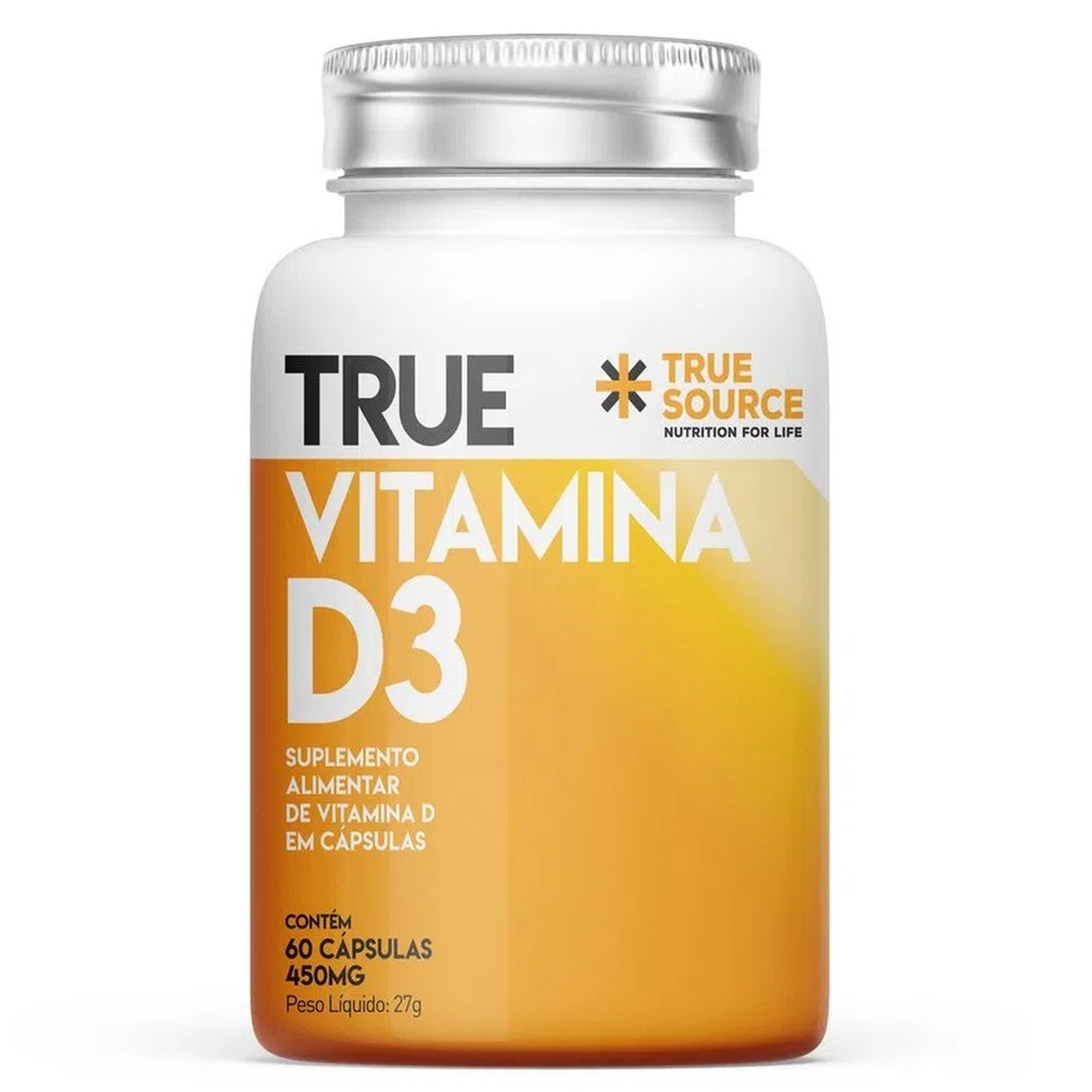 Vitamina D3 True 2000 UI (60 Caps) - True Source