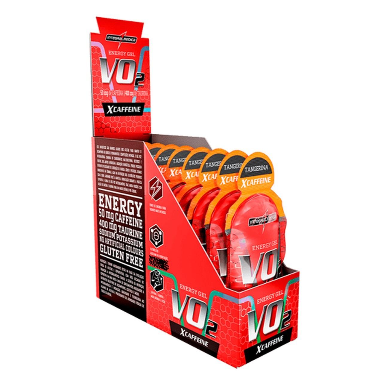 Vo2 Energy Gel X-Caffeine (10 Sachês 30g) - IntegralMédica
