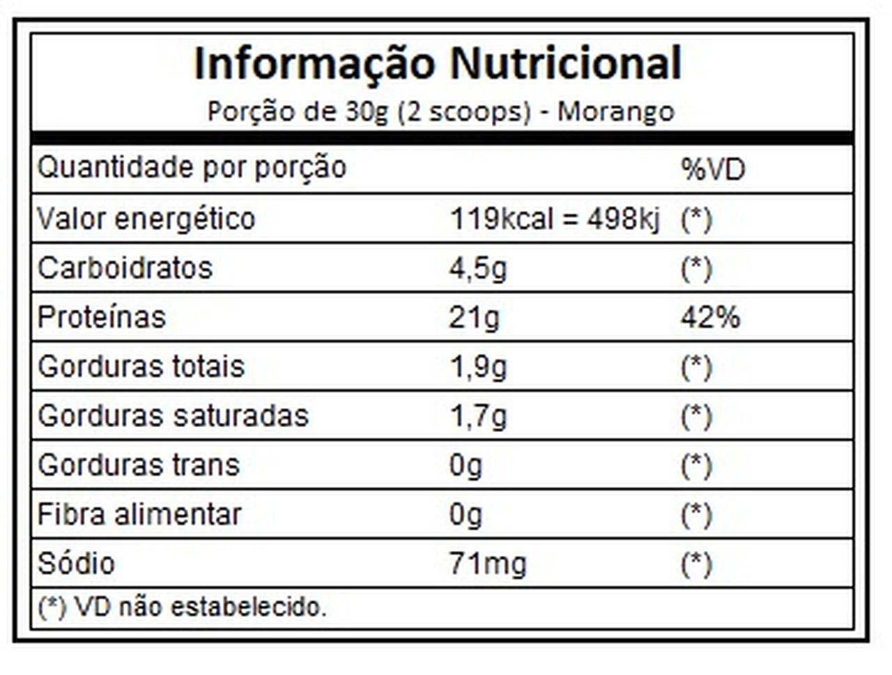 Whey 100% Pure - Refil (1,8kg) - IntegralMédica