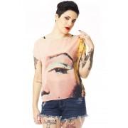BLUSA FEMININA FULL PRINT POP ART