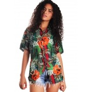 CAMISA ESTAMPADA UNISSEX JUNGLE