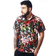 CAMISA FLORAL ESTAMPADA UNISSEX WONDERFULL