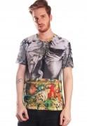 Camiseta Arte Estampada Full Print Unissex Early Delights BF3