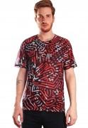 Camiseta Estampada Full Print Unissex Keit Haring Art PopART BF3