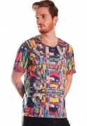 Camiseta Estampada Full Print Unissex Sex Jungle BF3