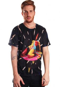 CAMISETA ESTAMPADA FULL PRINT UNISSEX TAME IMPALA