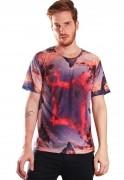 Camiseta Estampada Full Print Unissex Vulcano BF3