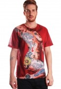 Camiseta Estampada Marilyn Full Print Unissex Diamond Girl BF3