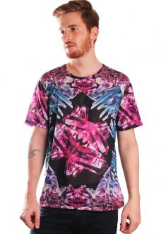 CAMISETA ESTAMPADA FULL PRINT UNISSEX CRYSTAL