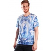 CAMISETA ESTAMPADA FULL PRINT UNISSEX MIRROR TILES