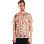 CAMISETA TATUAGEM ESTAMPADA FULL PRINT UNISSEX OLD IS COOL