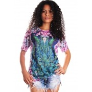 CAMISETA ESTAMPADA FULL PRINT UNISSEX PEACOCK