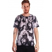 CAMISETA ESTAMPADA FULL PRINT UNISSEX SAINTS