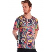 CAMISETA ESTAMPADA FULL PRINT UNISSEX SEX JUNGLE