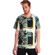 CAMISETA ESTAMPADA FULL PRINT UNISSEX VINTAGE CAMERA