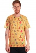 Camiseta Harry Potter Estampada Full Print Unissex Magic World BF3
