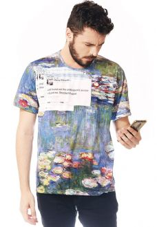 CAMISETA ESTAMPADA FULL PRINT UNISSEX ROUPAS TUMBLR SHOCKED & UPSET