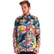 JAQUETA BOMBER ESTAMPADA FULL PRINT UNISSEX AMAZON