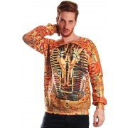 MOLETOM ESTAMPADO FULL PRINT UNISSEX EGYPT