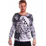 MOLETOM ESTAMPADO FULL PRINT UNISSEX GREAT FORCE ZELDA