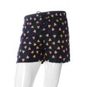 SHORTS ESTAMPADO PIZZA PEPPERONI FULL PRINT UNISSEX