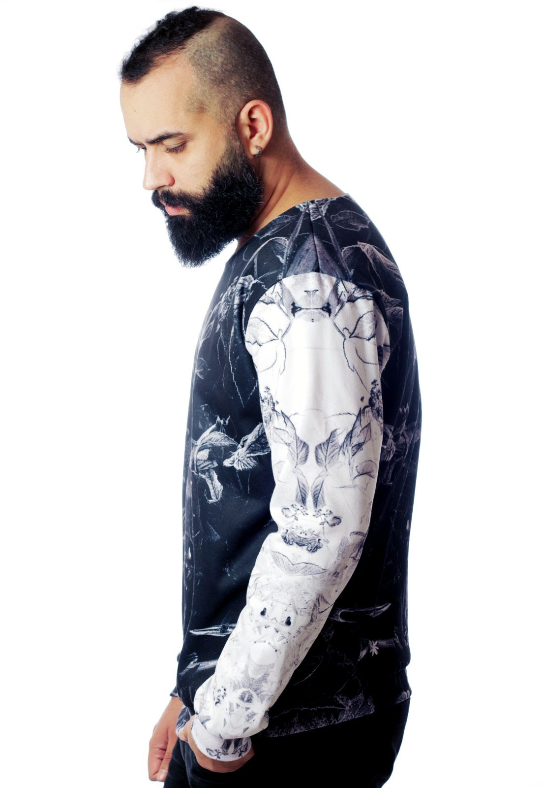 Blusa Moletom Estampado ElephunK Full Print Unissex Groundbreaking