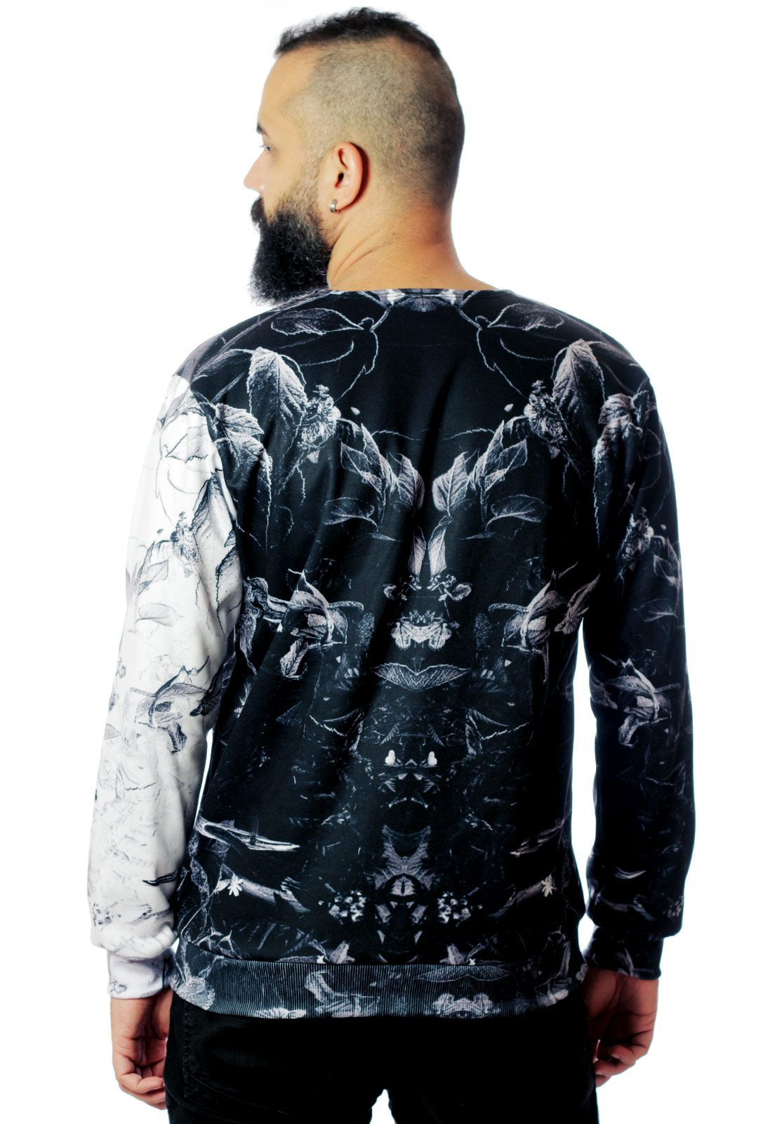 Blusa Moletom Estampado ElephunK Full Print Unissex Groundbreaking