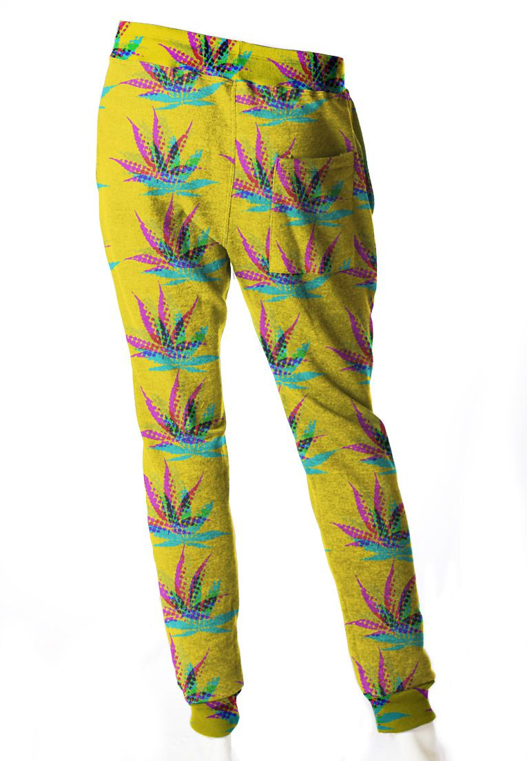 CALÇA JOGGER MOLETOM ESTAMPADA UNISSEX MARY JANE