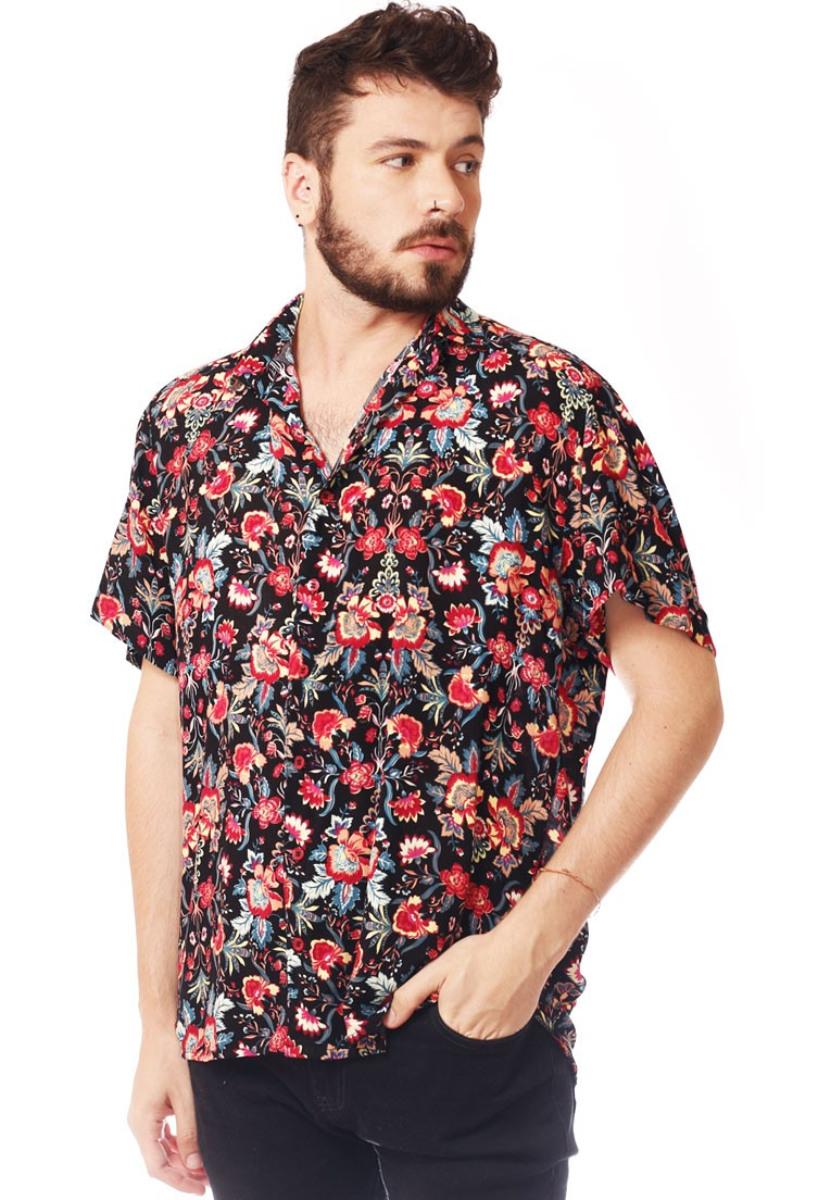 CAMISA ESTAMPADA UNISSEX COLOGNE