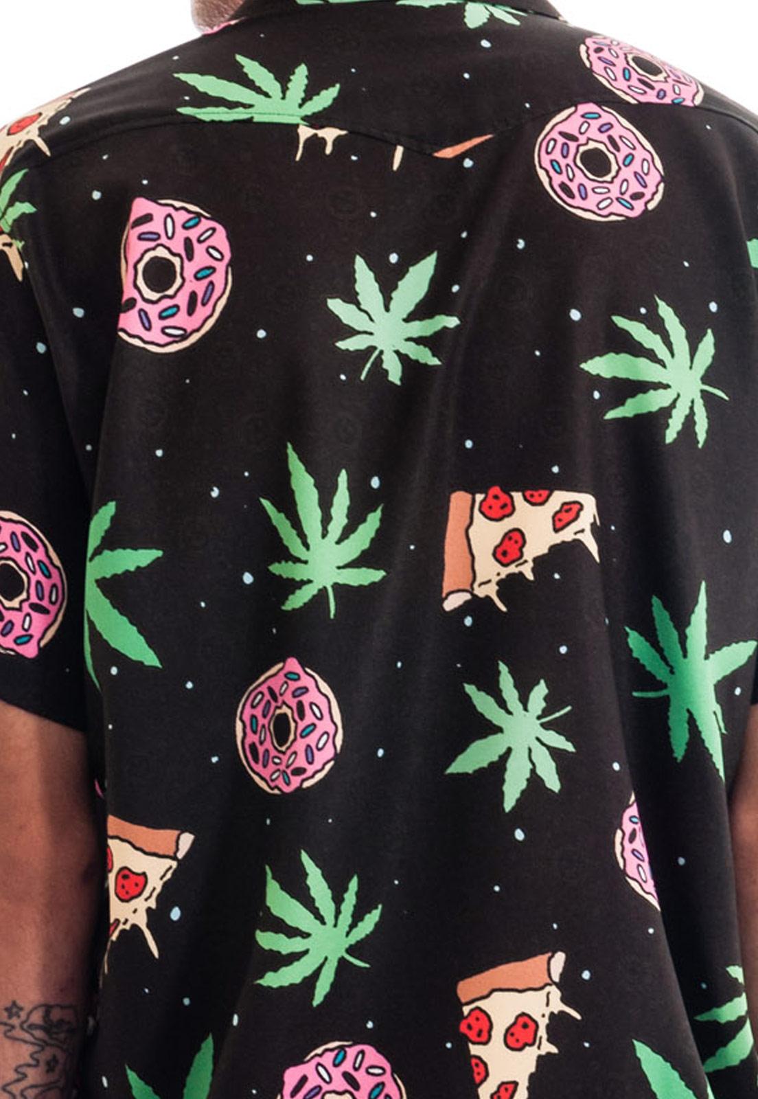 Camisa Estampada Legalize Sem Gênero ElephunK Black Mary Jane Preta