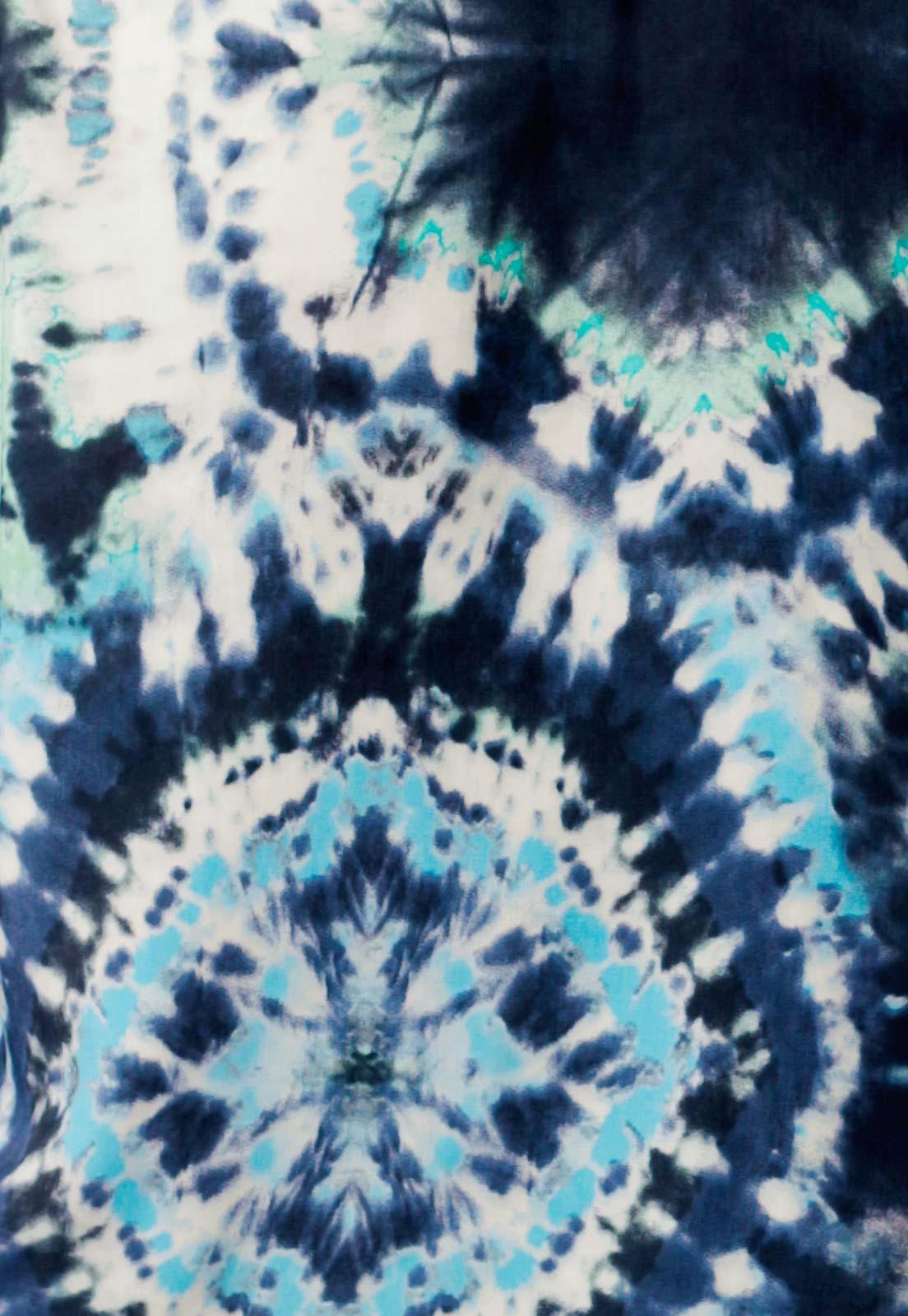 Camisa Estampada Tie Dye ElephunK Unissex Spirit Azul