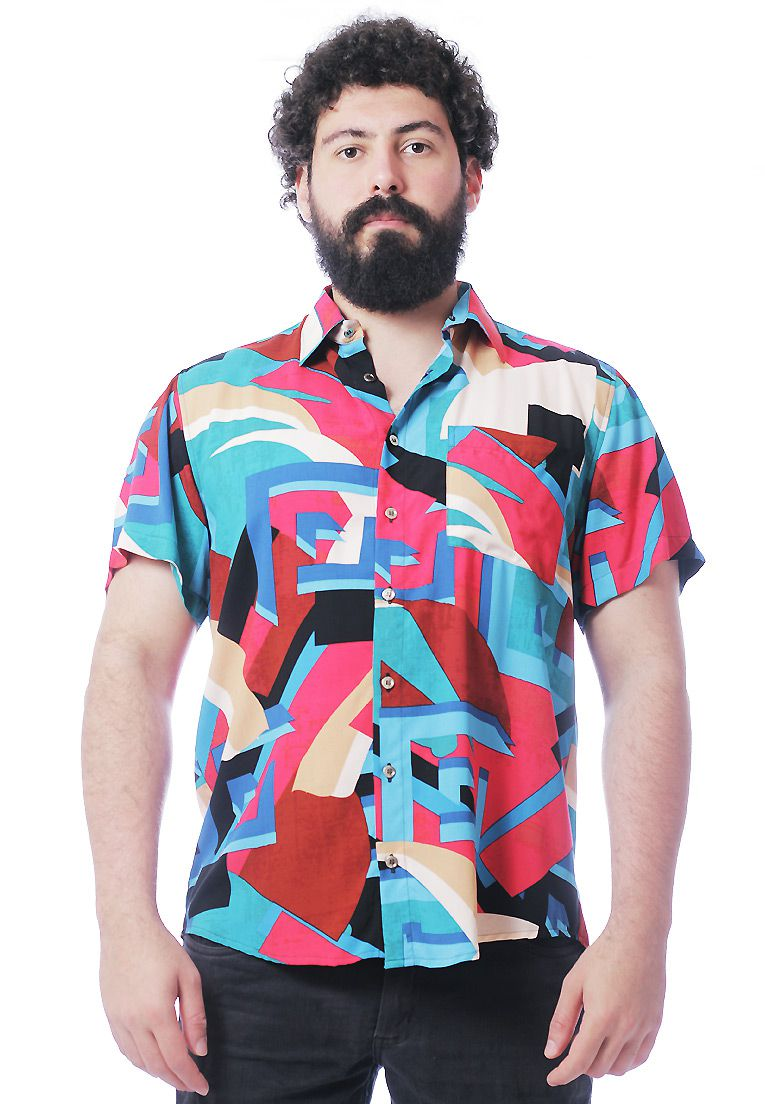 CAMISA ESTAMPADA UNISSEX STRIPZ SIX