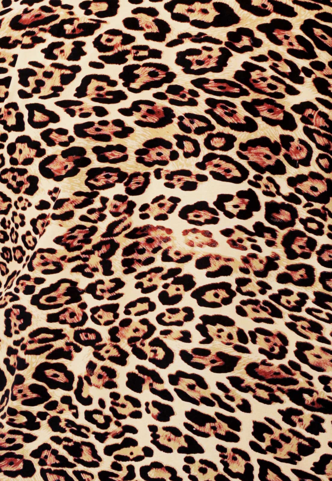 Camisa Oncinha Animal Print Estampada ElephunK Onça Marrom