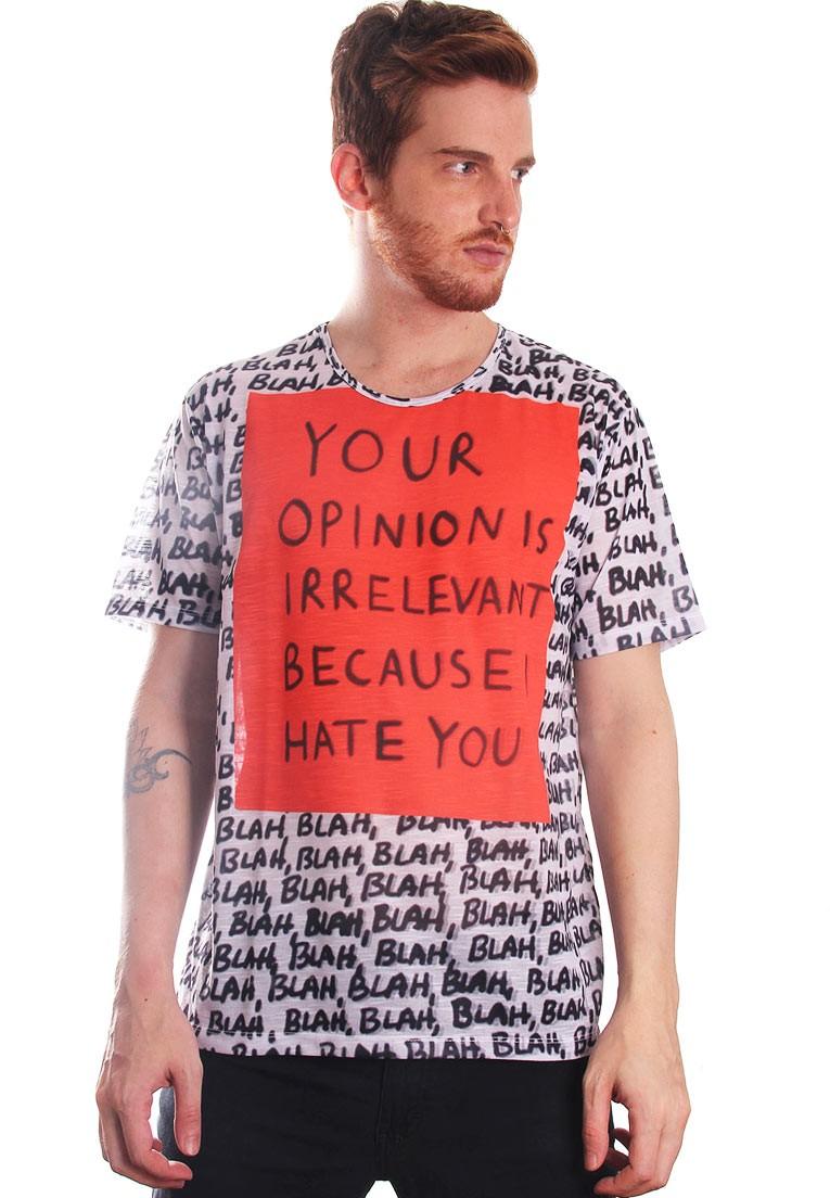 Camiseta Estampada Full Print Roupas Tumblr Internet BF3