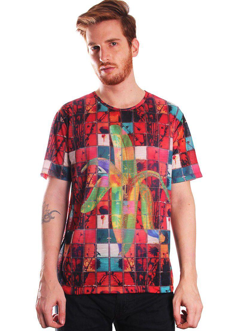 Camiseta Estampada Full Print Unissex Roupas Tumblr Bannanas