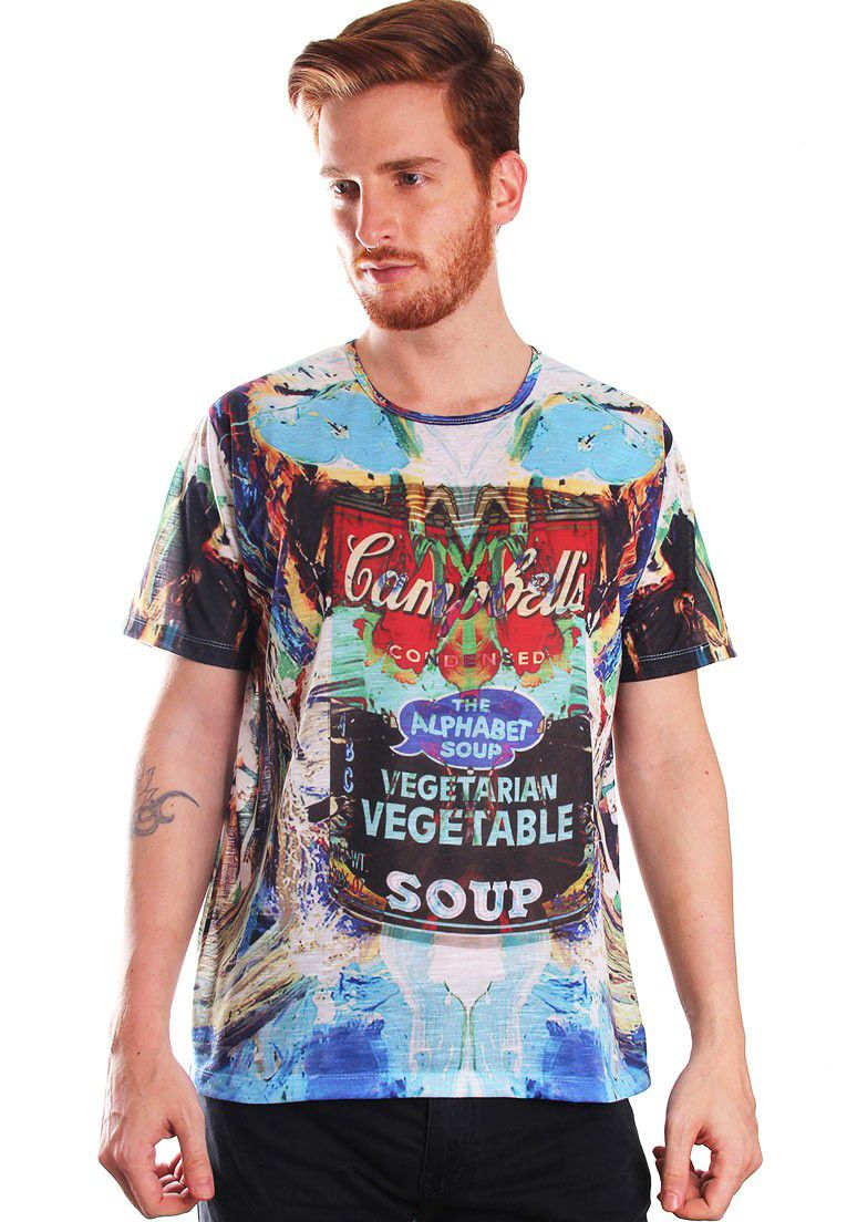 CAMISETA ESTAMPADA FULL PRINT UNISSEX CAMP-BELLS