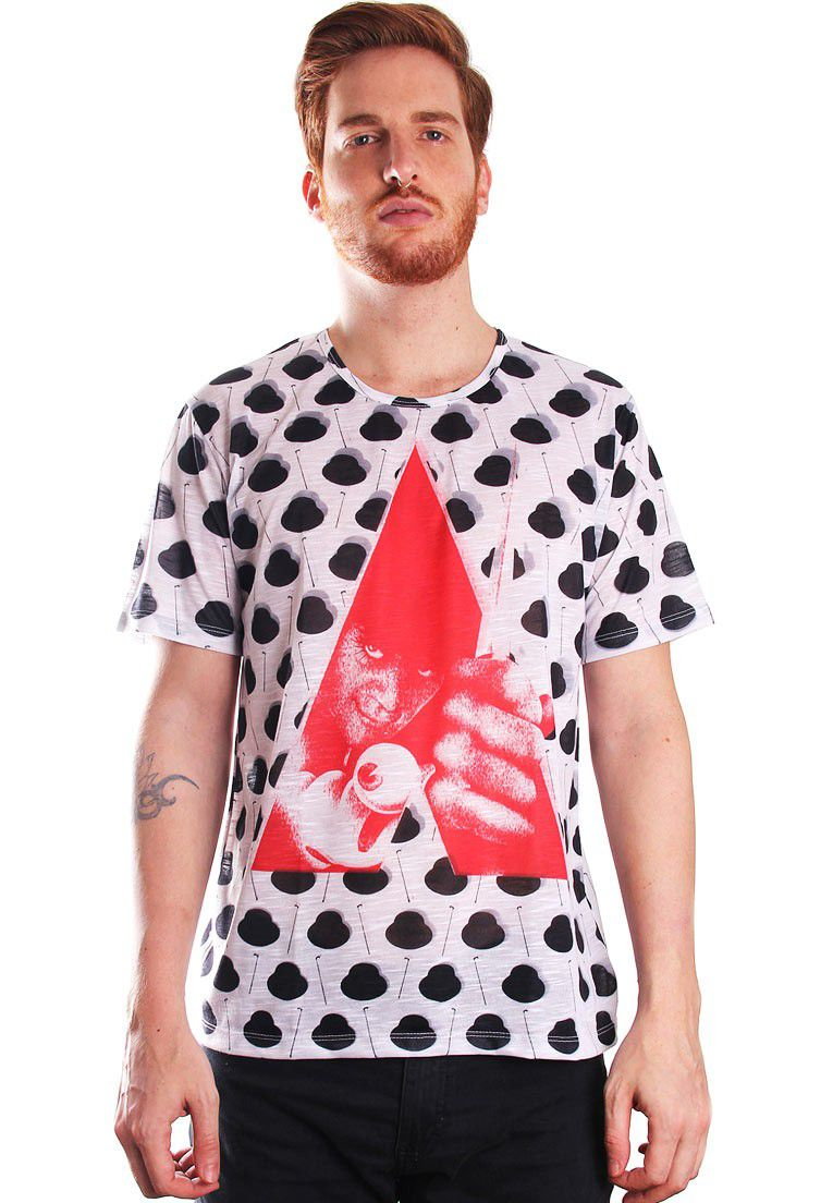 CAMISETA ESTAMPADA FULL PRINT UNISSEX CLOCK-WERK