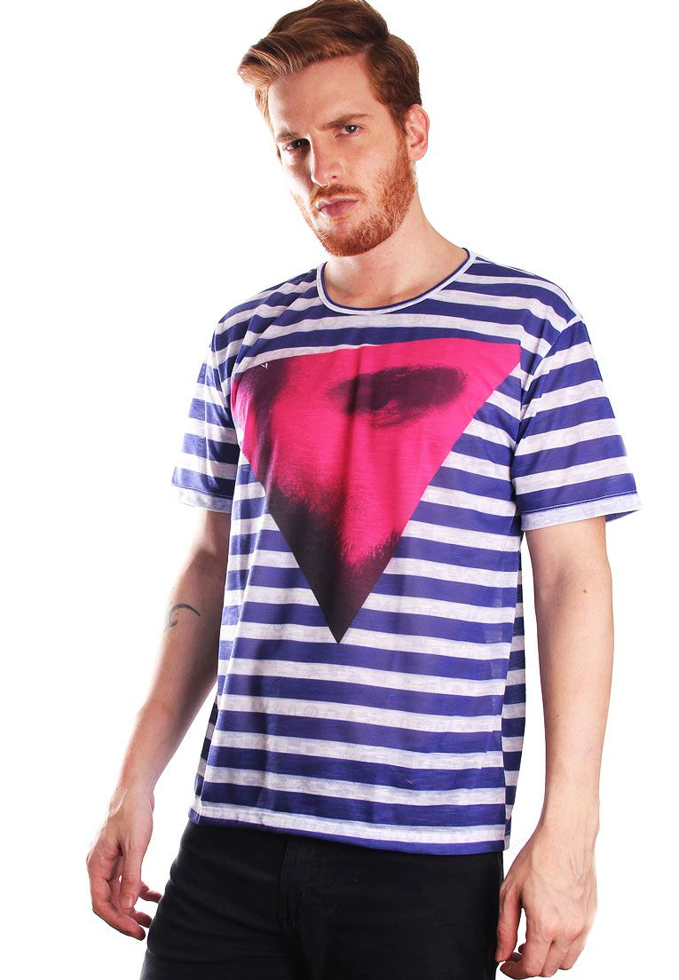 CAMISETA ESTAMPADA FULL PRINT UNISSEX COOL MARINE