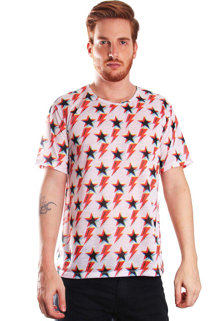 CAMISETA ESTAMPADA FULL PRINT UNISSEX ZIGGY STAR