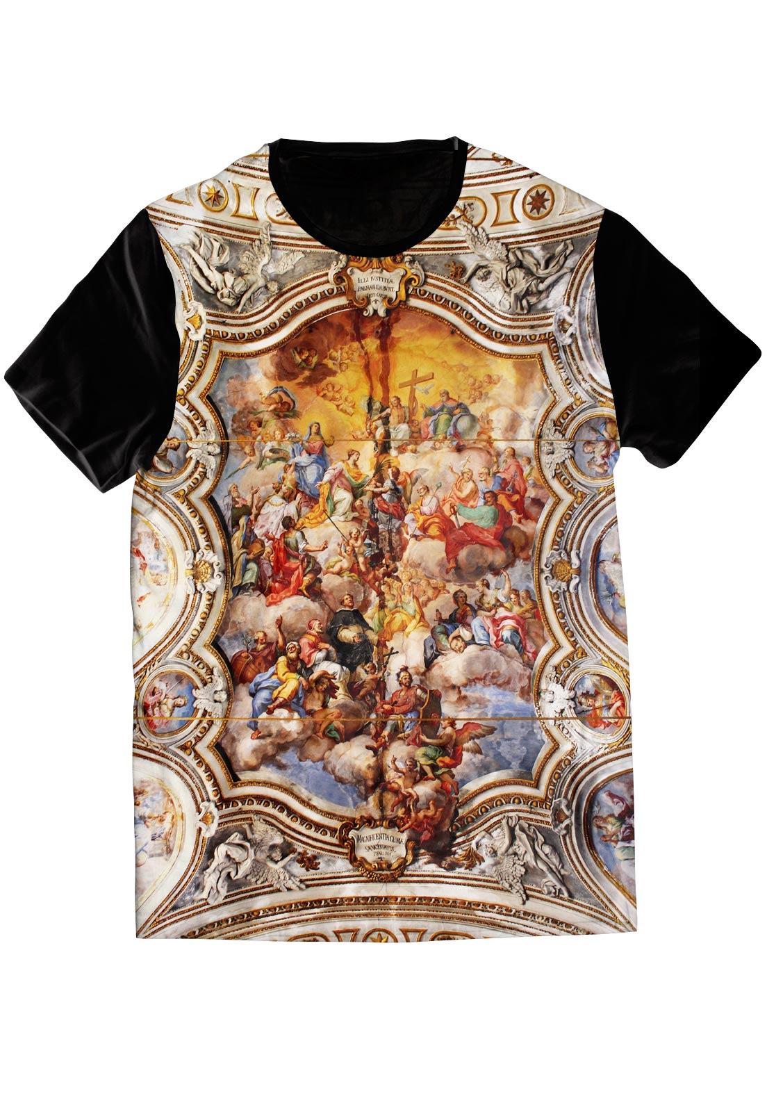 Camiseta Religiosa Igreja Sacra Sacred Camisa Vaticano