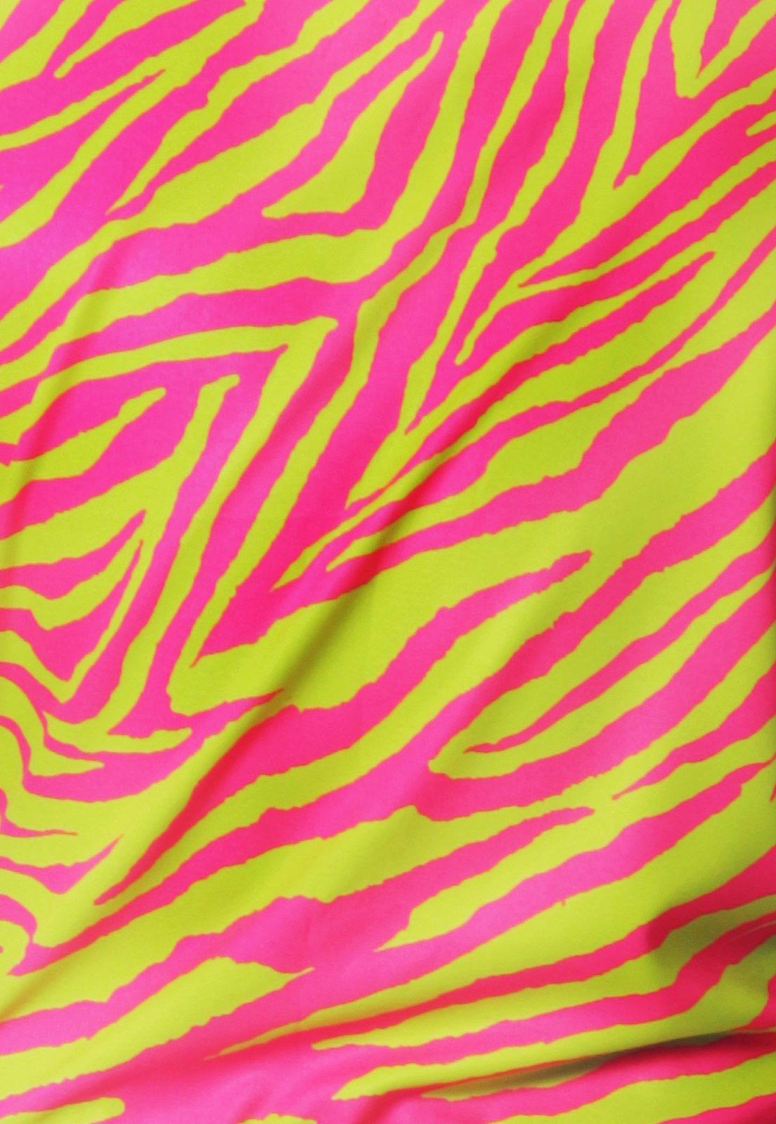 Macaquinho Neon Estampado Sem Gênero ElephunK Animal Print