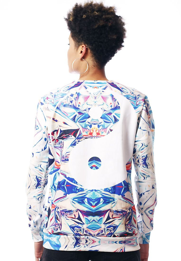 Blusa Moletom Estampado Full Print Unissex Chinese
