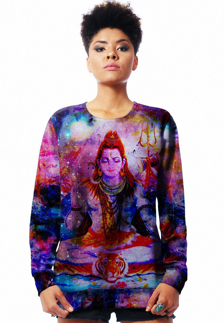 MOLETOM ESTAMPADO FULL PRINT UNISSEX GALAXY SHIVA