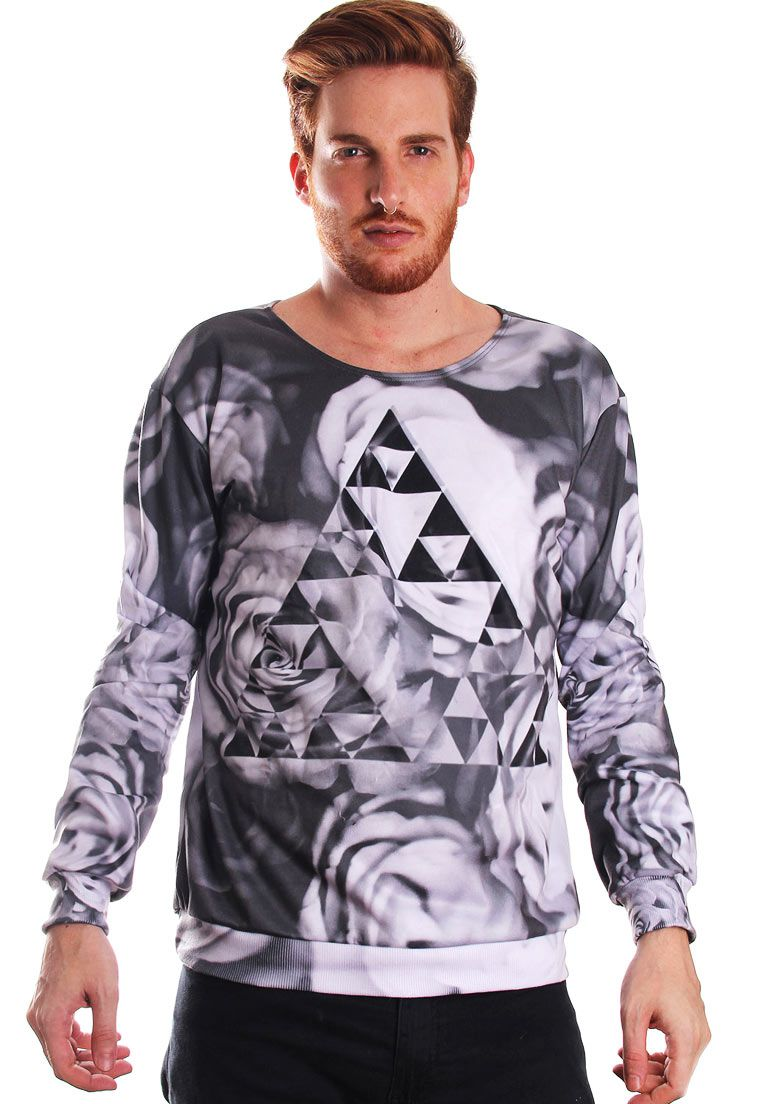 BLUSA MOLETOM ESTAMPADO FULL PRINT UNISSEX GREAT FORCE ZELDA