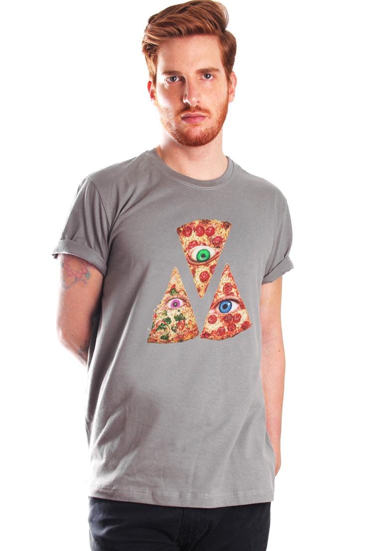 ONLY PIZZA CAMISETA ALGODÃO