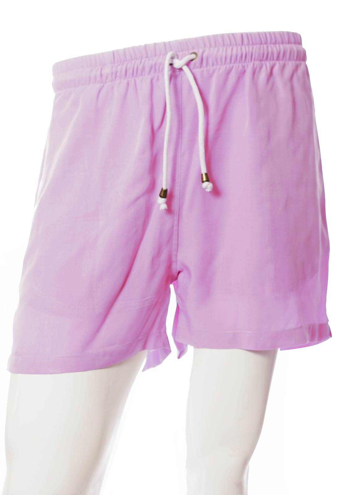 Shorts Color Blocking Clubber Pop Balada Novela Unissex Roxo