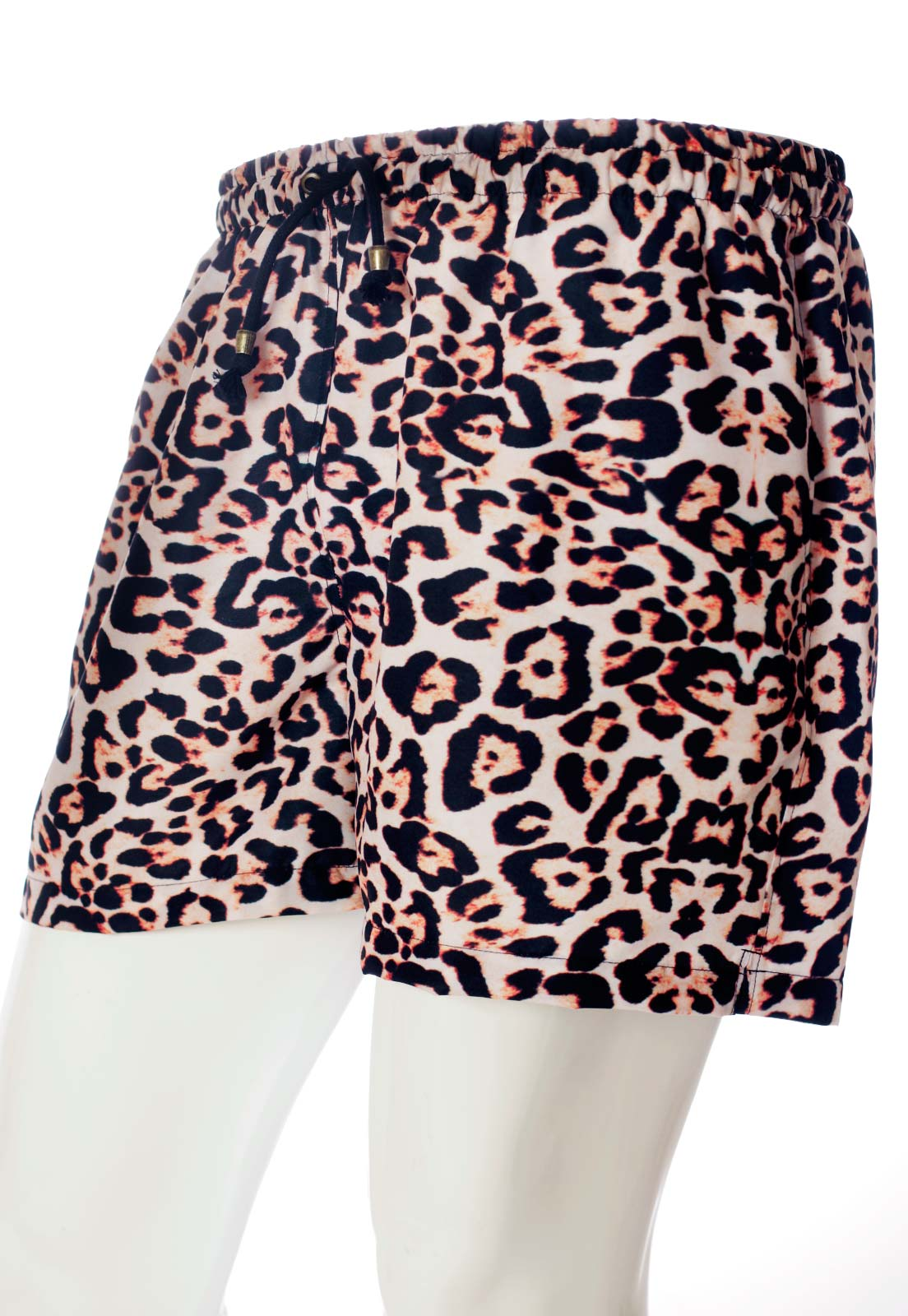 SHORTS ESTAMPADO ANIMAL PRINT GUEPARDO UNISSEX