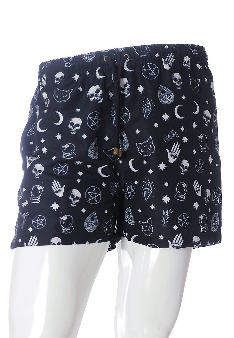 SHORTS ESTAMPADO BLACK MAGIC FULL PRINT UNISSEX