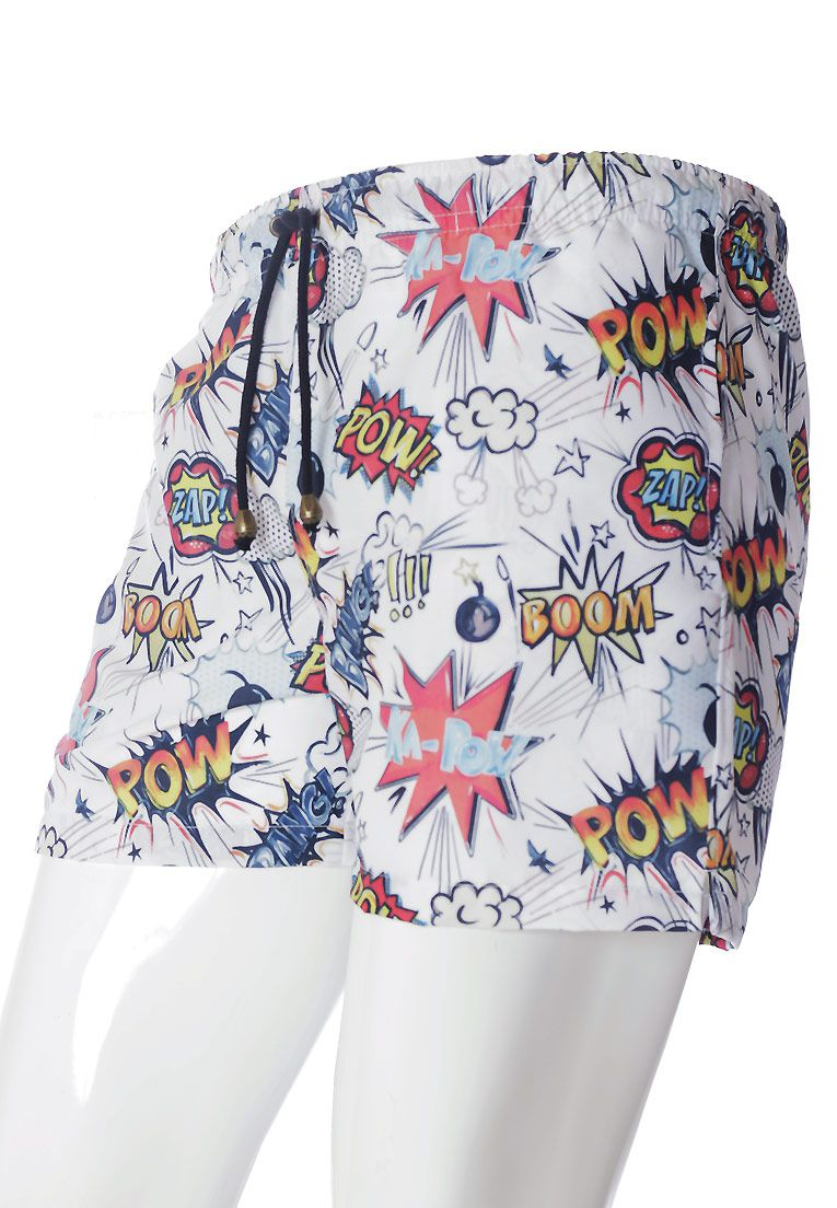 SHORTS ESTAMPADO BOOM BANG! FULL PRINT UNISSEX