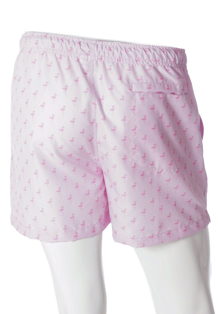 SHORTS ESTAMPADO FLAMINGOS FULL PRINT UNISSEX